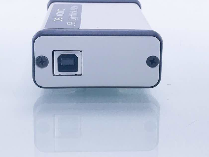 Bel Canto USB Light Link 24/96; USB to Glass Optical Digital Converter (17652)