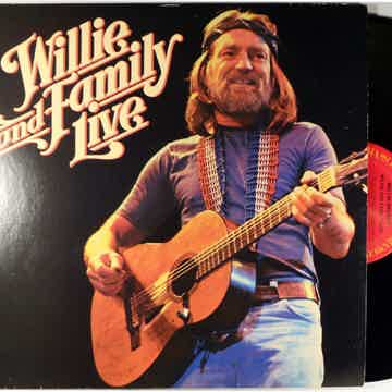 Willie Nelson  and Family Live - Columbia KC 2 35642