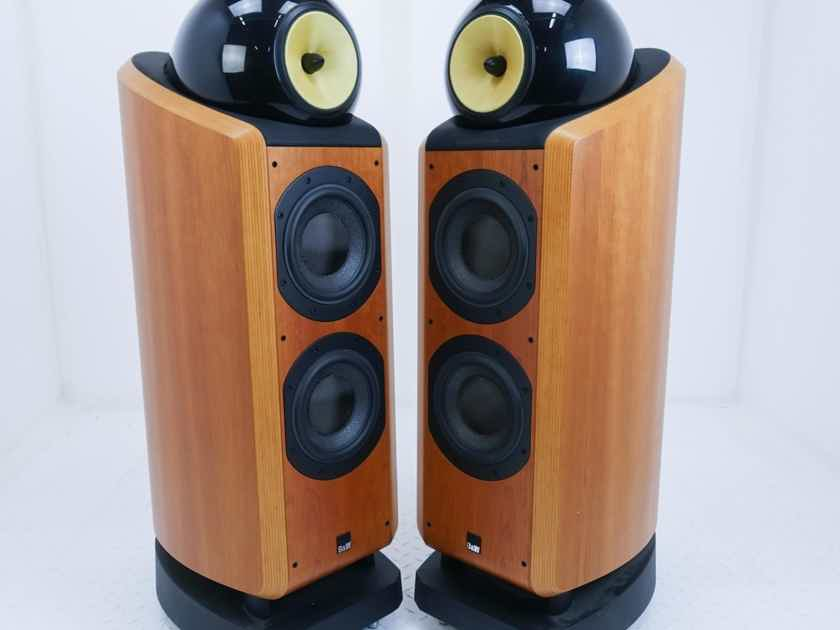 B&W 802D Floorstanding Speakers Cherrywood Pair (16020)