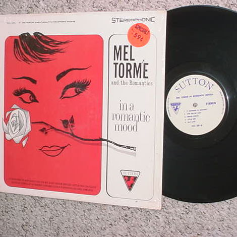 Mel Torme and the Romantics in a romantic mood lp record