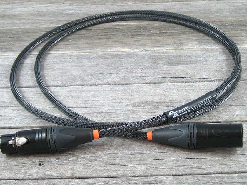 Avanti Audio Allegro Digital 1.5M AES/EBU XLR Balanced Digital Interconnect