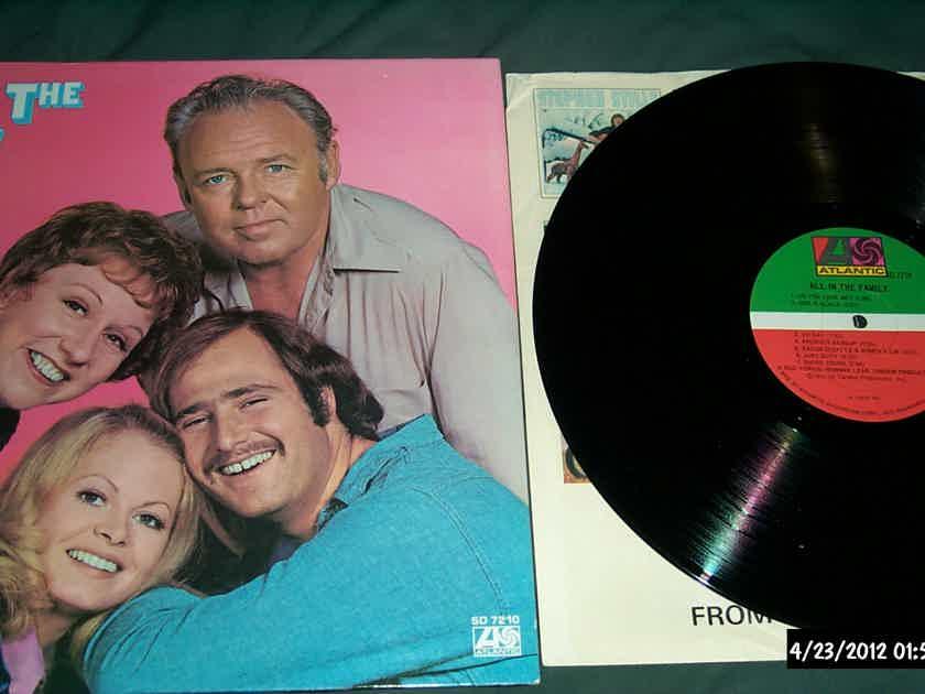 Soundtrack - All In The Family TV Series Atlantic Records Vinyl LP NM
