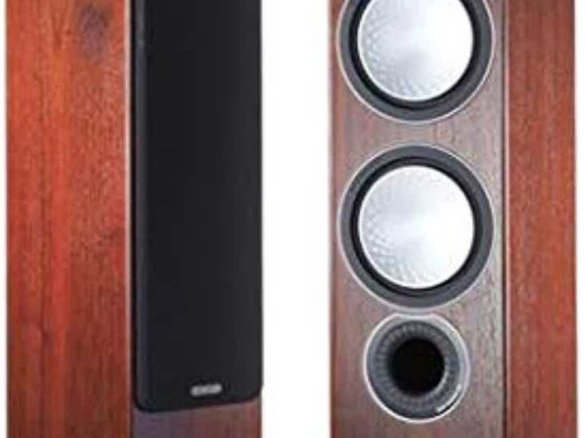 Monitor Audio RX6 Towers in Real Walnut wood  Veneer