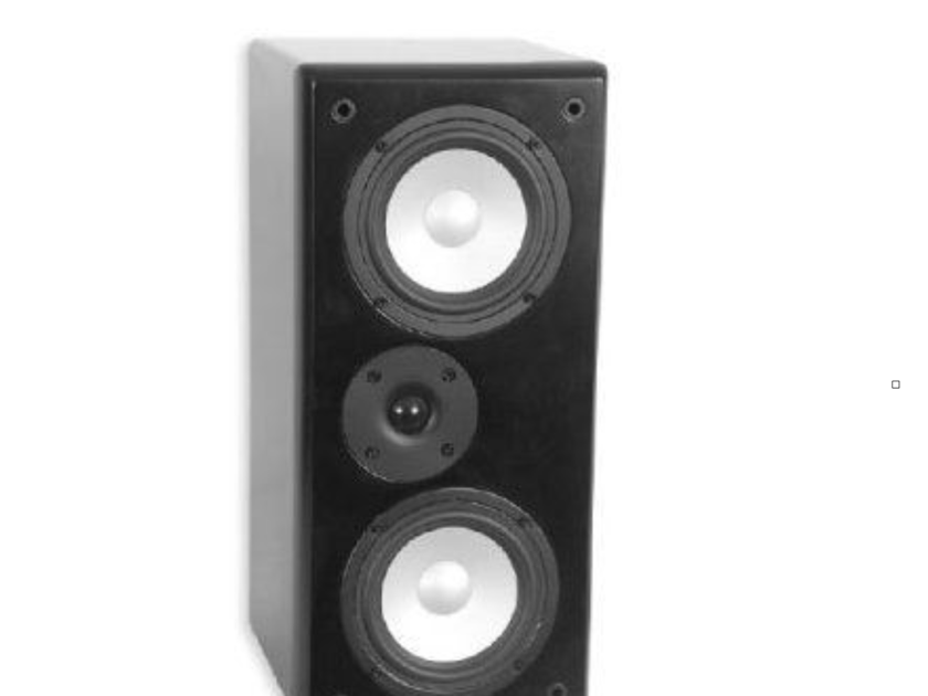 TruAudio CT-66A LCR Bookshelf Speakers Black Pair CT66A (New Old Stock) (12916)