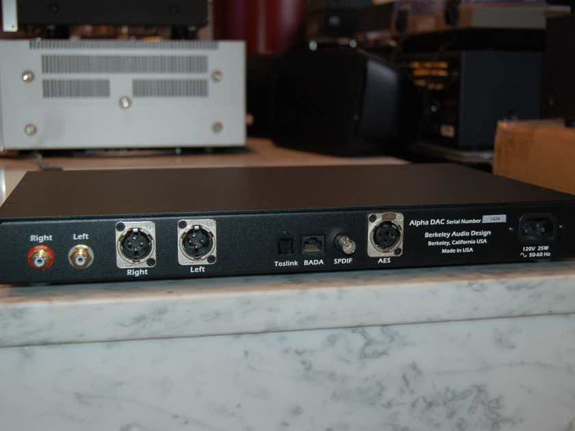 Berkeley Audio Design Alpha DAC  Original version