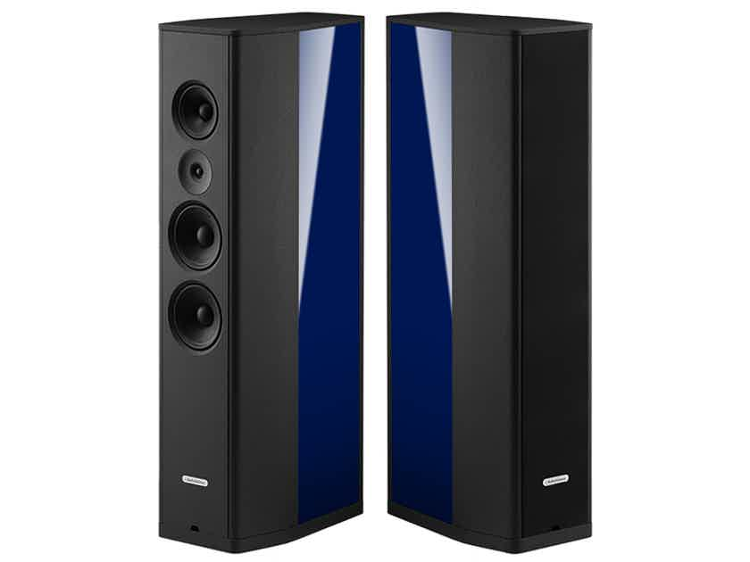 AudioSolutions Figaro M 3-Way Floorstanding Speakers (Marine Blue); EXCELLENT Demo; Full Warranty; 56% Off