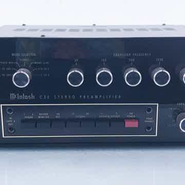 C32 Vintage Stereo Preamplifier