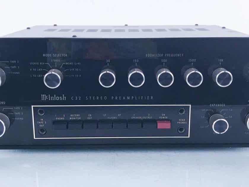 McIntosh C32 Vintage Stereo Preamplifier  (14874)