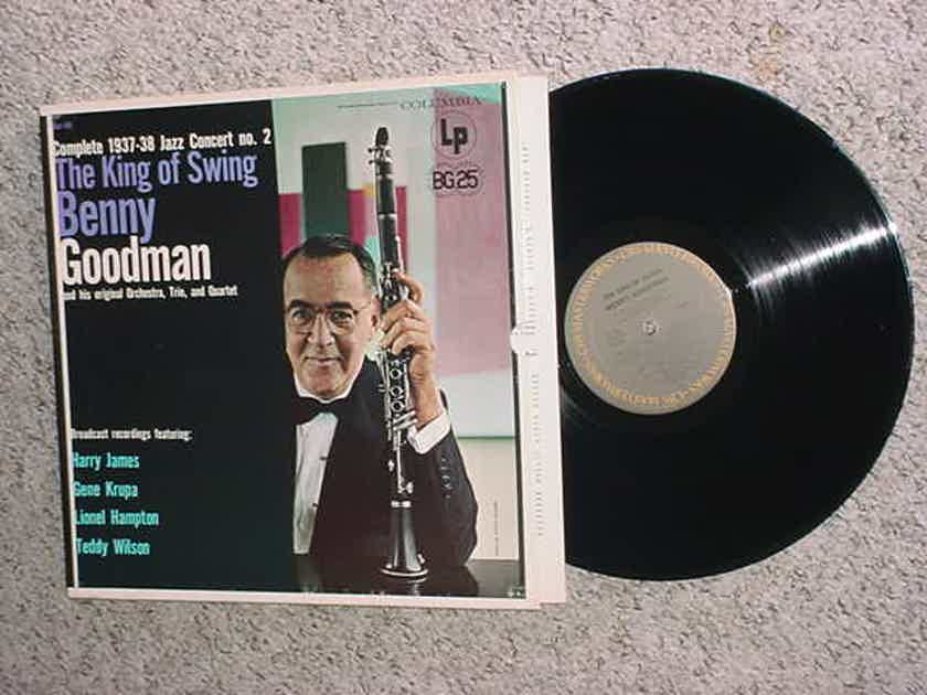 The king of swing Benny Goodman - 2 lp record box set complete 1937-38 jazz concert no. 2
