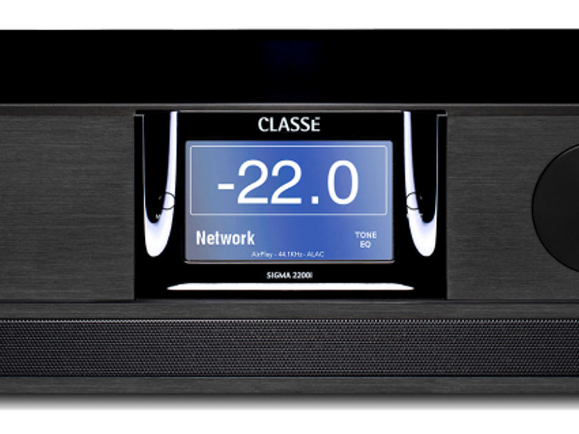 Classé Audio 2200i Integrated Amplifier Near New Includes Shipping and Paypal