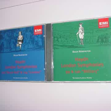 London Symphonies 99 & 100 military 103 & 104 Drum roll
