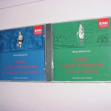 EMI Classics 2 cd CD'S Roger Norrington Haydn London Symphonies 99 & 100 military 103 & 104 Drum roll
