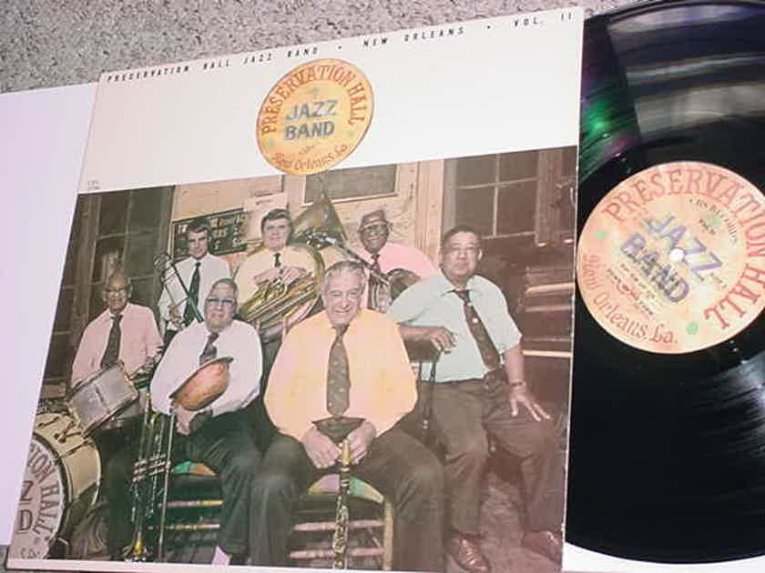 Preservation Hall Jazz Band vol II LP Record New Orleans cbs 37780 1982