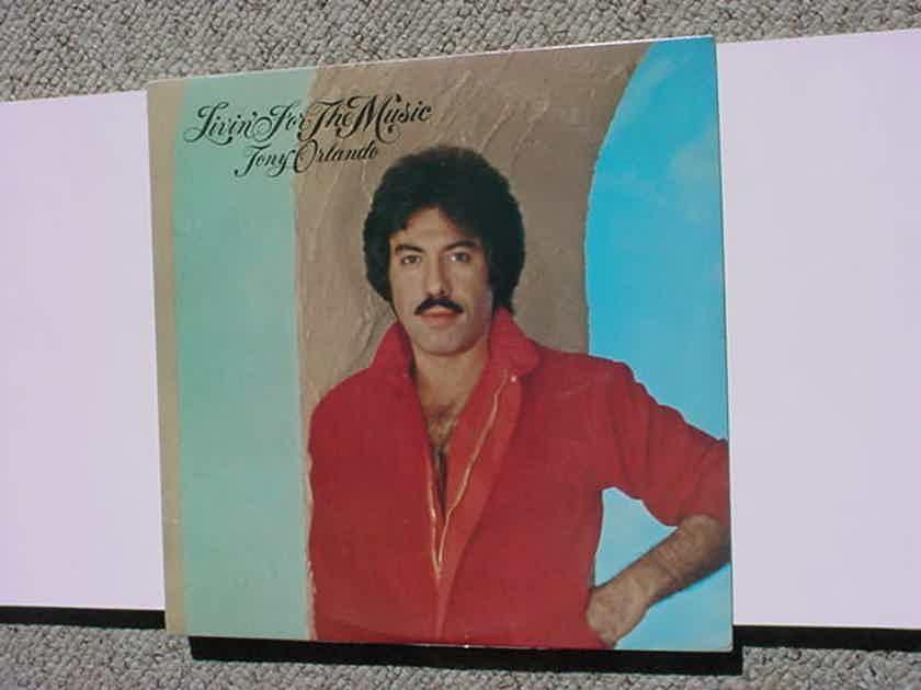 SEALED Tony Orlando lp record - livin for the magic Casablanca 1980