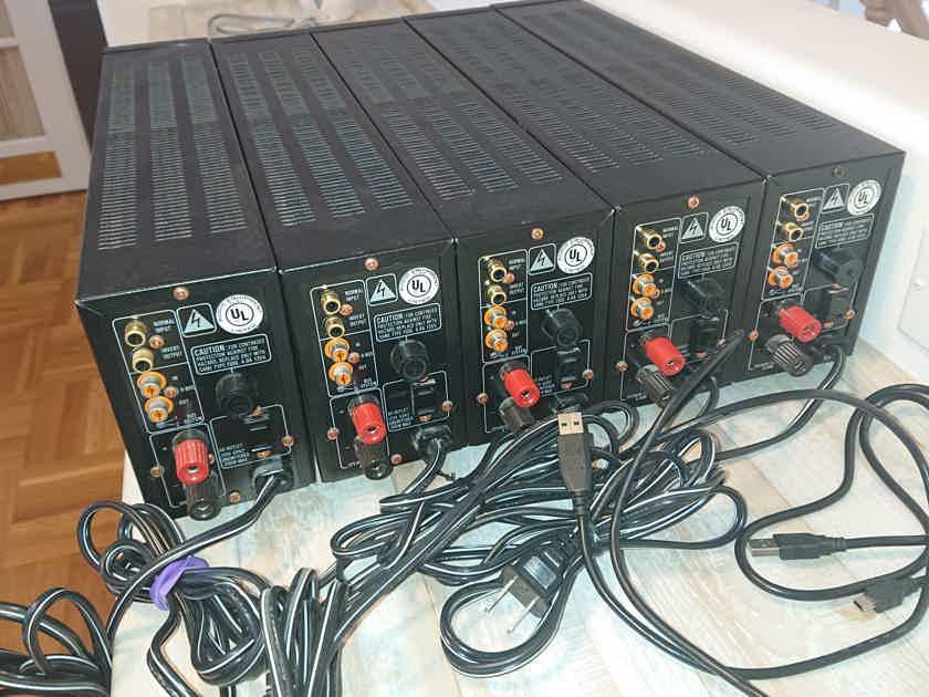 5 Marantz MA500 Monoblock Amplifiers