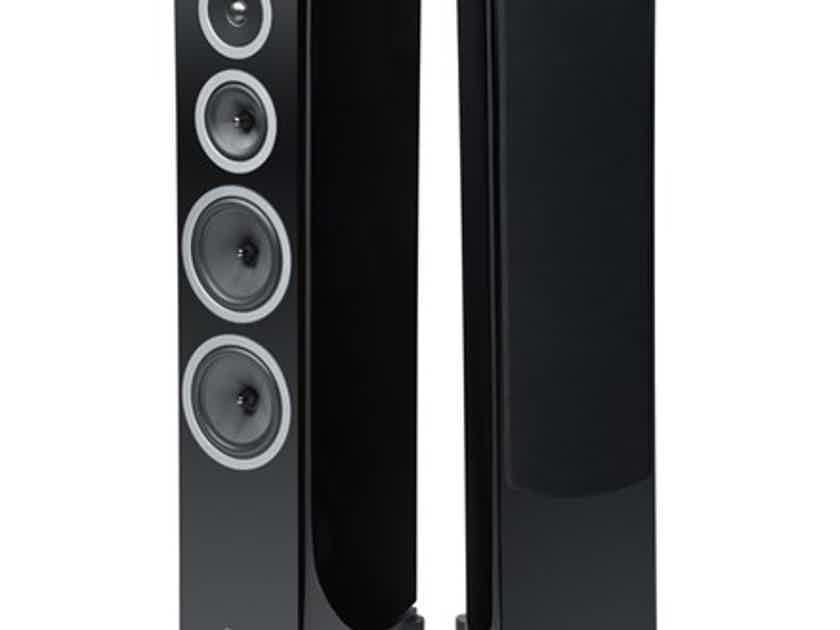 WHARFEDALE Reva-4 Floorstanding Loudspeakers: Brand New-In-Box; 5 Yr. Warranty; 60% Off