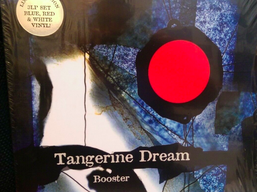 Tangerine Dream Booster - 3lp Ltd Edition on Colored Vinyl - New