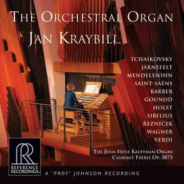 Jan Kraybell The Orchestra Organ RR HDCD 24Bit