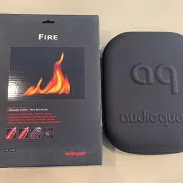 AudioQuest Fire RCA 1m