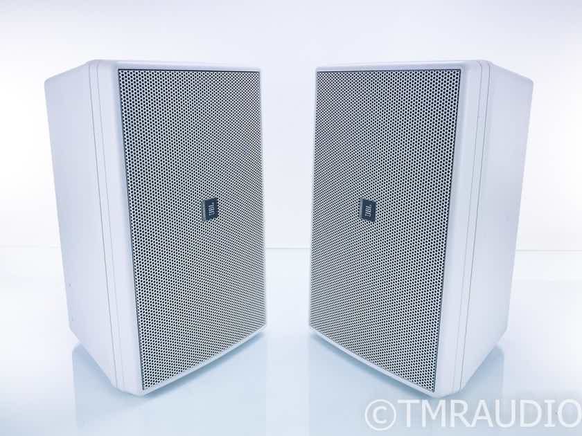 JBL Control 30 Indoor / Outdoor Monitor Speakers; White Pair (17755)