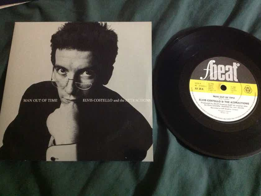Elvis Costello - Man Out of Time 45 With Sleeve UK