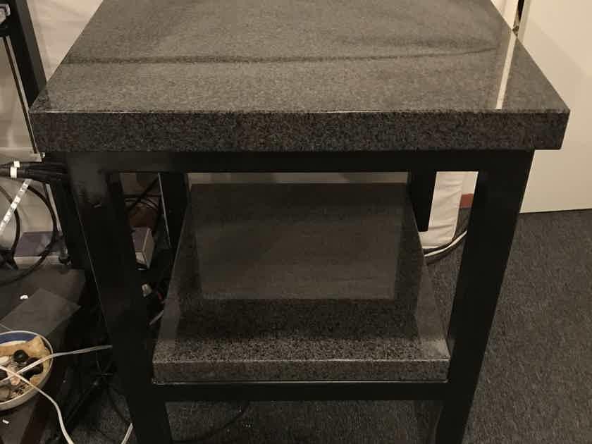 Custom  Granite Audiophile Isolation Turntable Stand