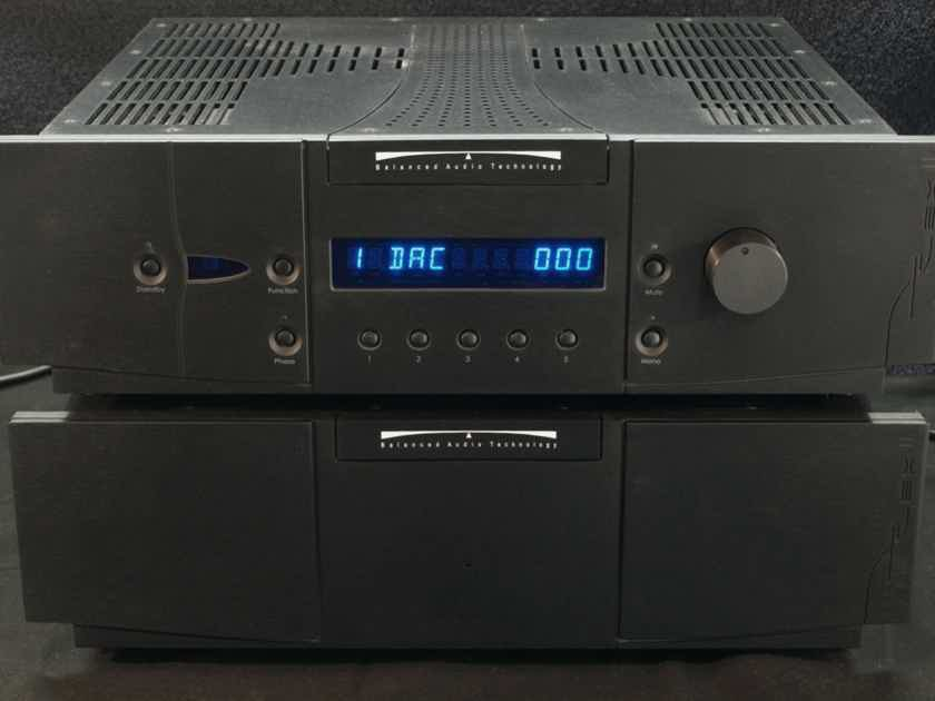Balanced Audio Technology Rex II S.O.T.A. TUBE PREAMP, NEAR MINT