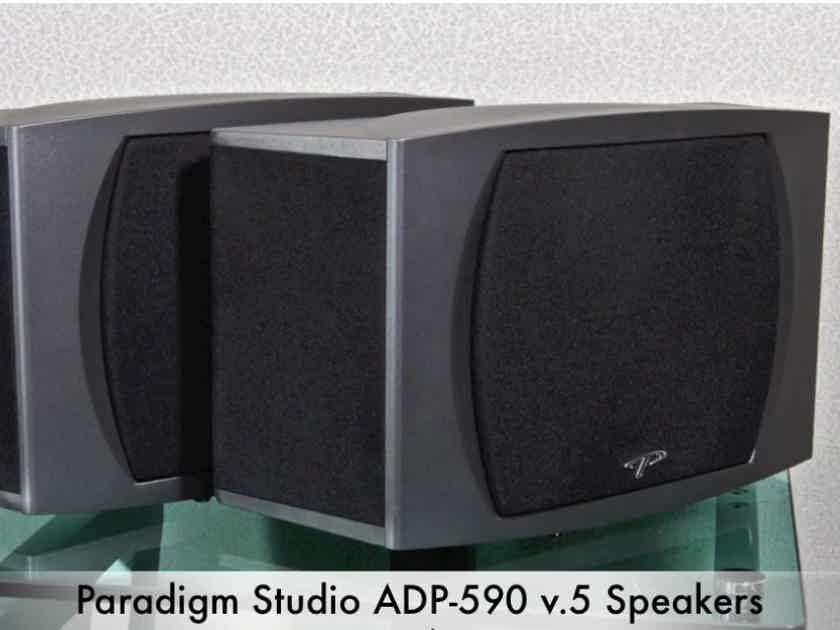 Paradigm Studio ADP-590 Surround Speakers Pair Color:  Black