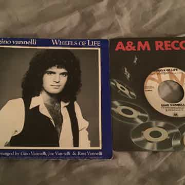 Gino Vannelli  Wheels Of Life 45 With Picture Sleeve Fo...