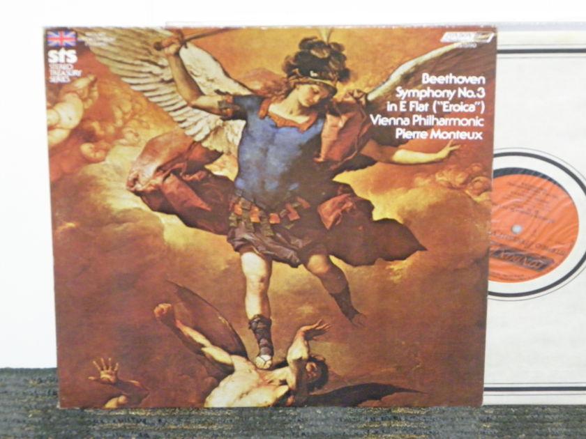 Pierre Monteux/Vienna Philharmonic - Beethoven Symphony No .3 London STS 15190 2W/2W matrix