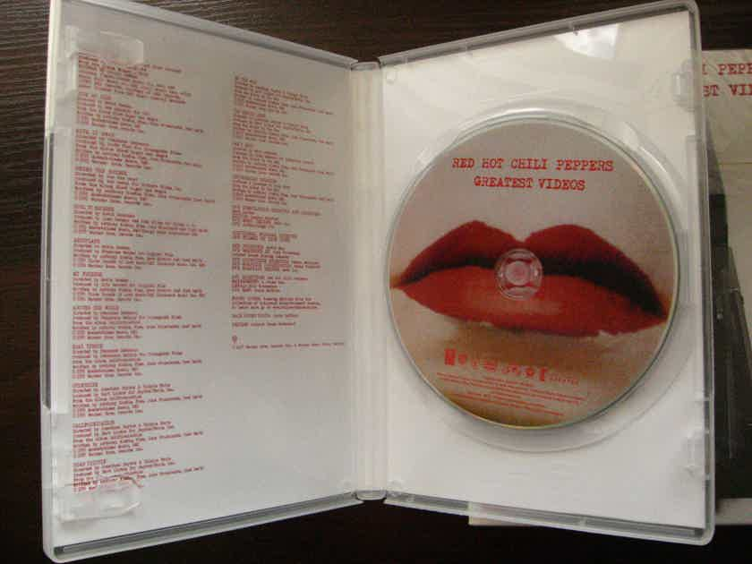 RED HOT CHILI PEPPERS - GREATEST VIDEO DVD