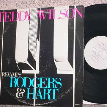 jazz Teddy Wilson lp record revamps Rodgers & Hart 1977