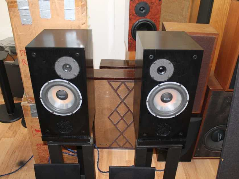 ProAc Response Two Response 2 Speakers -Excellent- in Original Boxes / Serviced