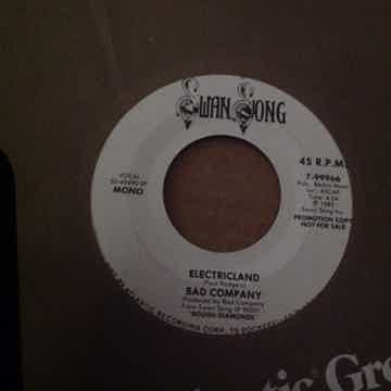 Bad Company - Electricland Swan Song Records Promo Mono...