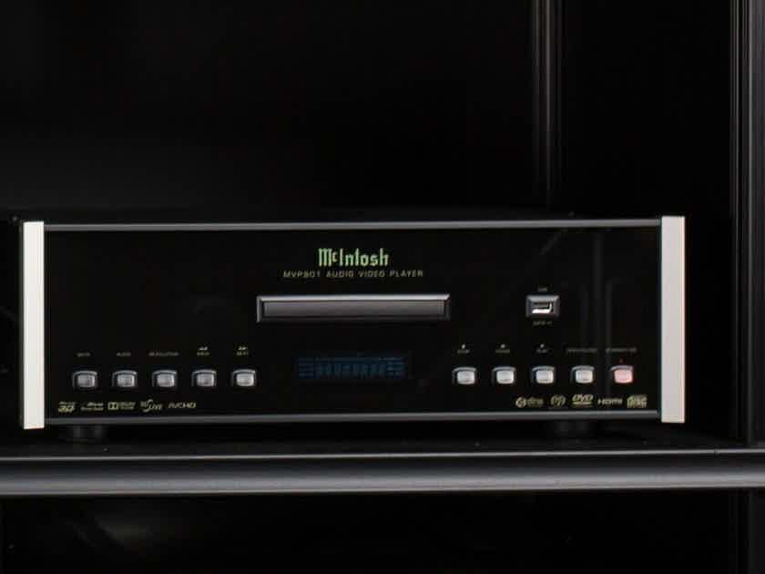 MINT McIntosh MVP901 Audio Video Player Upsamples to 4K Ultra HD CD SACD Bluray