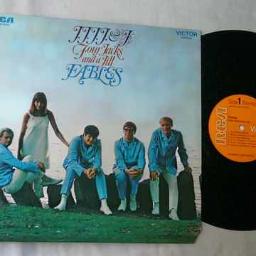 FOUR JACKS & A JILL LP-- FABLES--RARE ORIG 1968 LP -