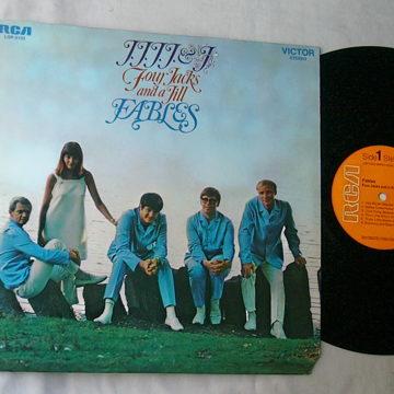 FOUR JACKS & A JILL LP-- FABLES--RARE ORIG 1968 LP -