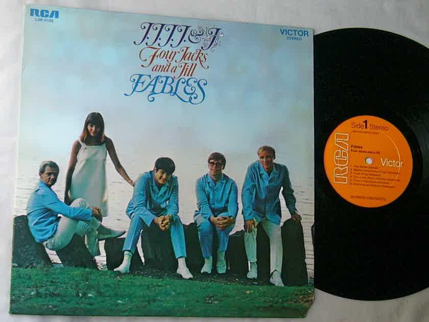 FOUR JACKS & A JILL LP-- - FABLES--RARE ORIG 1968 LP -    PSYCH FOLK - RCA Victor