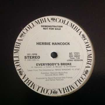Herbie Hancock Everybody's Broke Promo 12 Inch Long Ver...