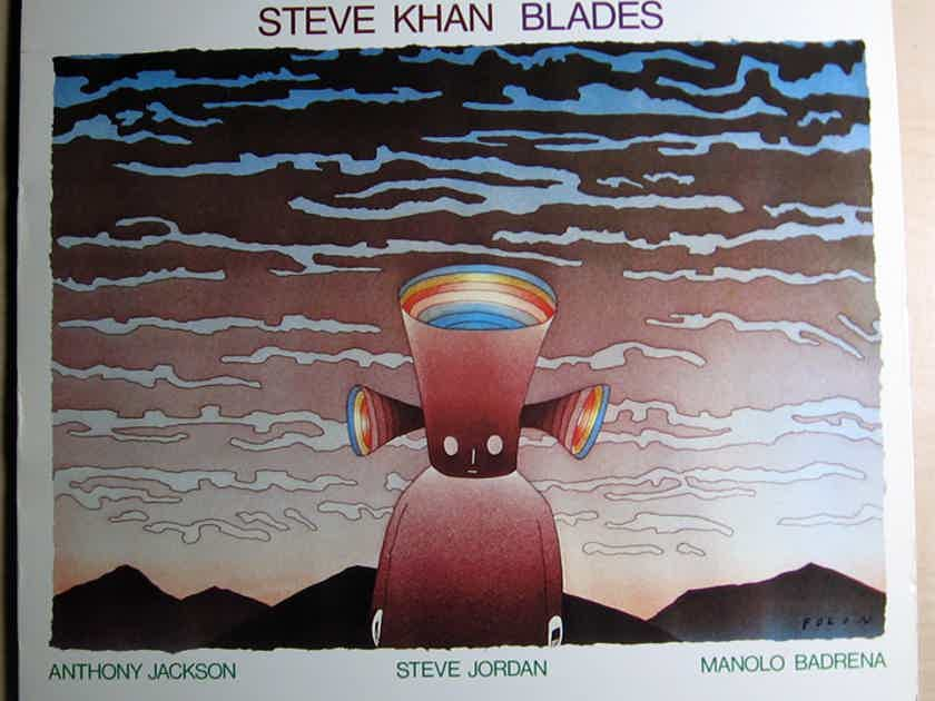 Steve Khan - Blades - 1982 Passport Jazz ‎PJ 88001