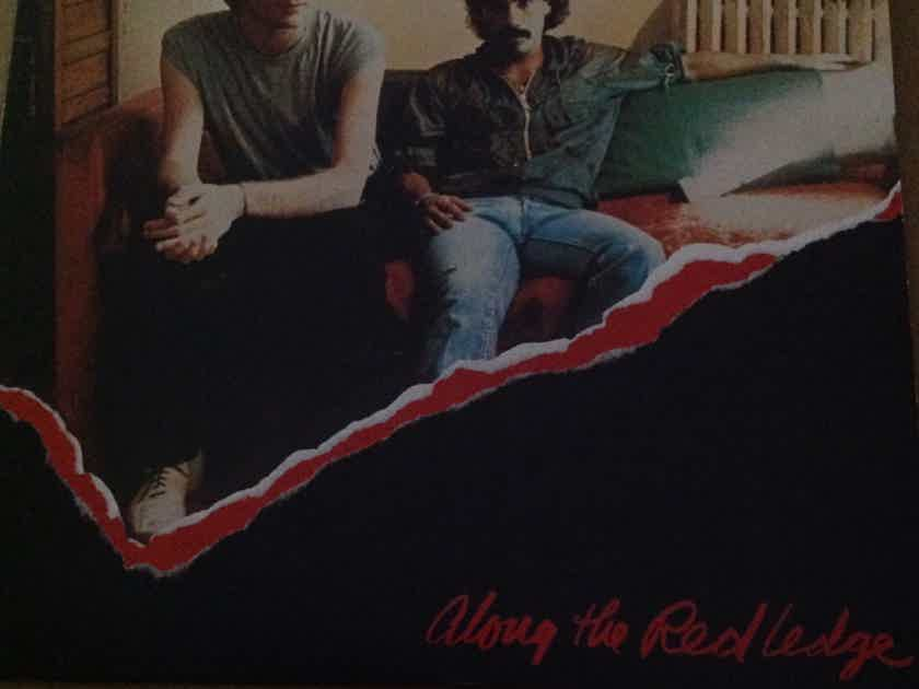 Hall & Oates - Along The Red Ledge RCA Records With Red Promo Stamp Back Cover Vinyl LP NM
