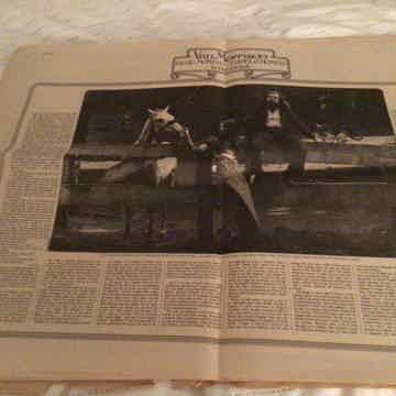 Van Morrison  Rolling Stone Magazine Issue 111 1972