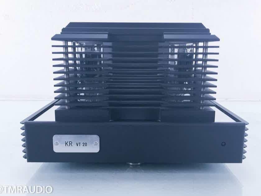 KR Audio VT-20 Dual Mono Transistor Tube Power Amplifier; VT20 (17182)