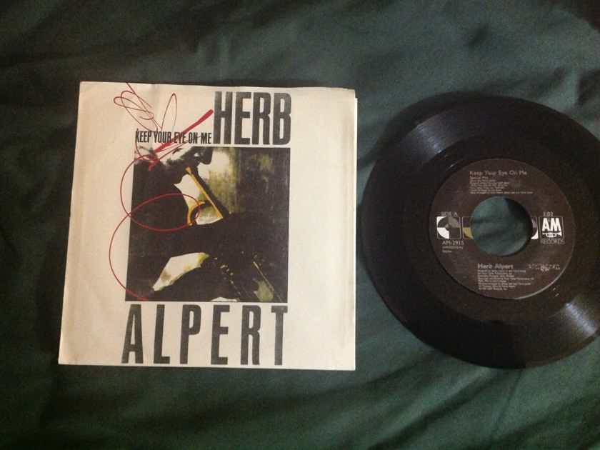 Herb Alpert - Keep Your Eye On Me(Special Mix) 45 With Sleeve