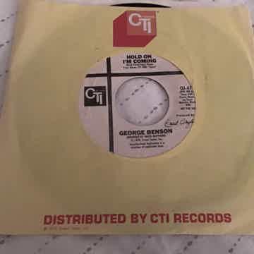 George Benson  Hold On I'm Coming CTI Promo 45 NM