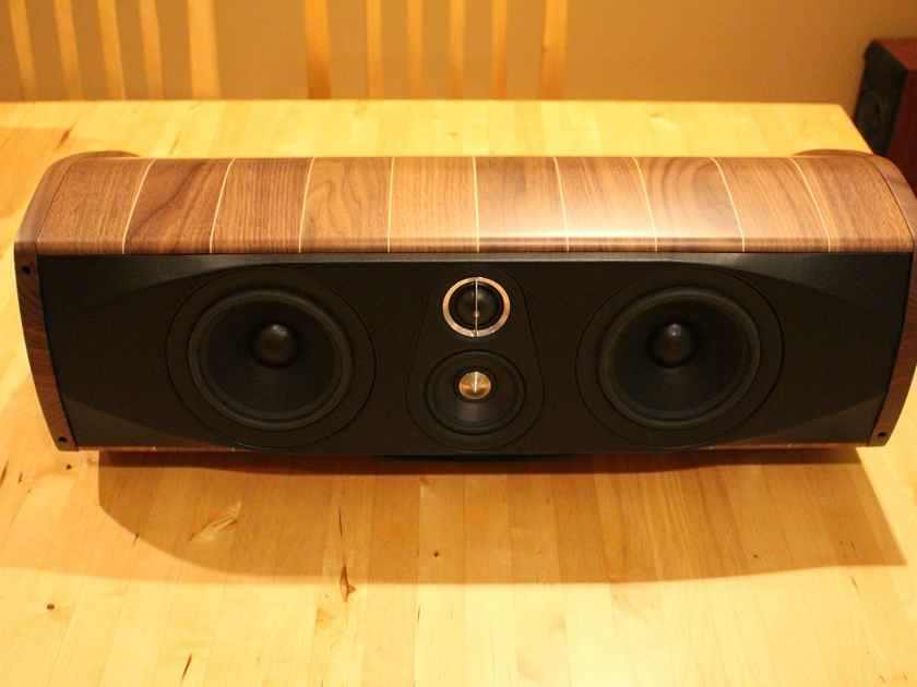 Sonus Faber Olympica Center Channel Maple Wood Finish