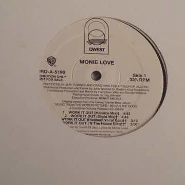 Monie Love Work It Out QWest Records Promo 12 Inch EP 7...