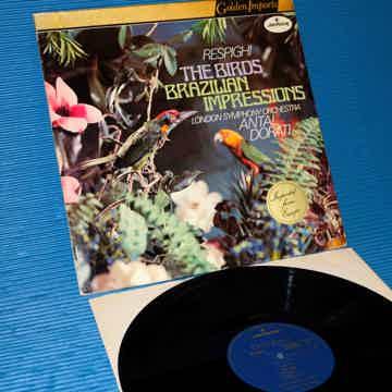 """RESPIGHI / Dorati  - """"THE BIRDS"""" -  Mercury Golden Impo..."""