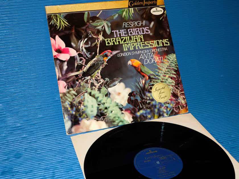 """RESPIGHI / Dorati  - """"THE BIRDS"""" -  Mercury Golden Imports 1976"""