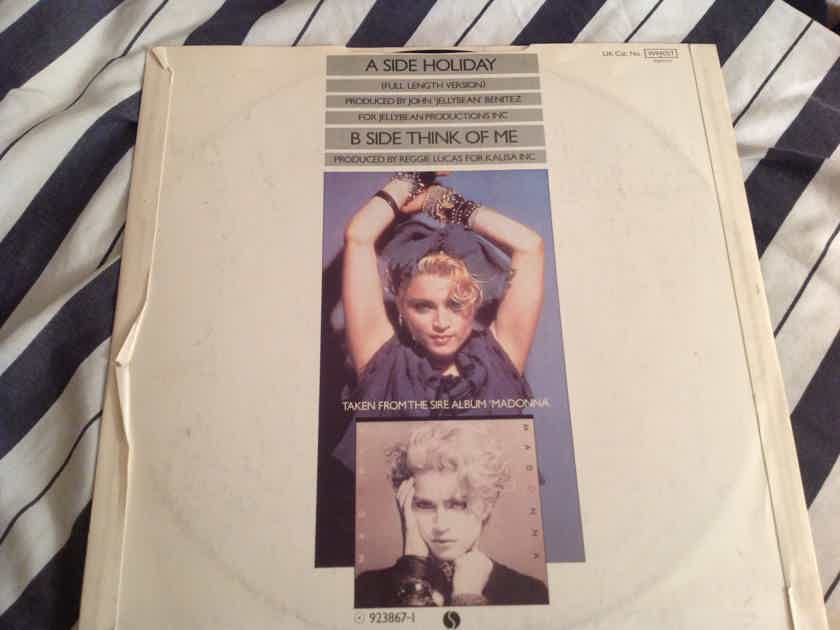 Madonna  Holiday/Think Of Me Sire Records U.K. 45RPM